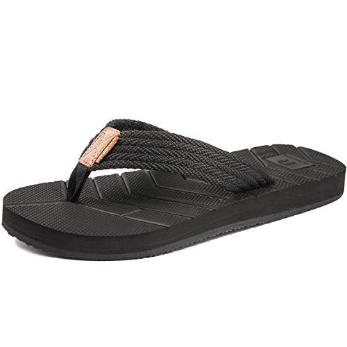 Herren Modische Flip Flops Zehentrenner rutschfeste Indoor Outdoor Sommer Schuhe Sandalen