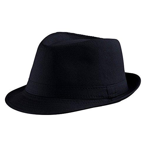 Dress Up America Sombrero Negro Fedora Adultos