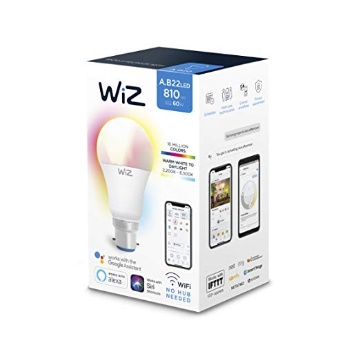 WiZ G2 Colours + TW + Dimming A60 B22 1P