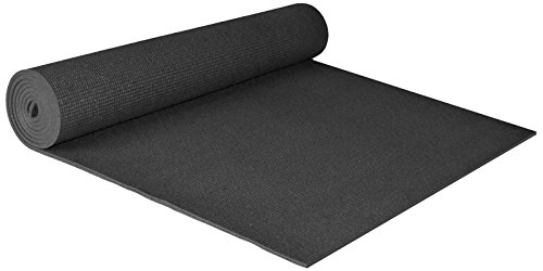 YogaAccessories Extra Wide 1/4'' Deluxe Yoga Mat
