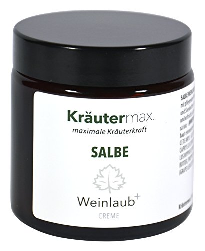 Kräutermax Rotes Weinlaub Creme 1 x 100 ml Ohne Parabene