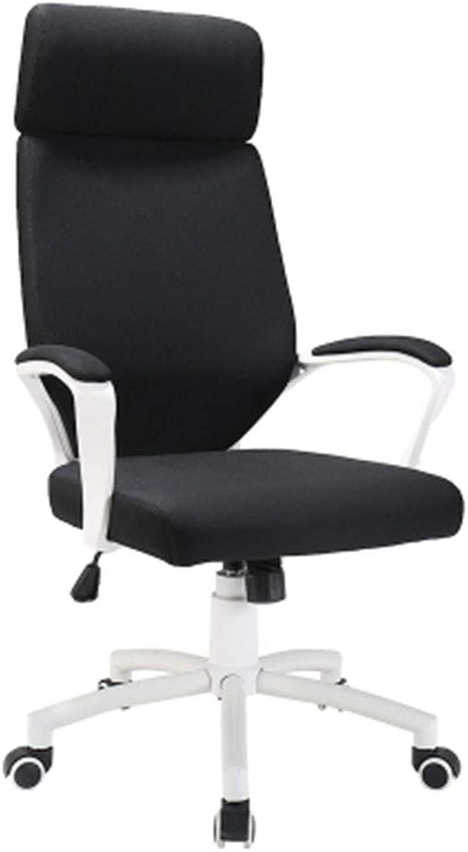 LJFYXZ Computer Stuhl, E-Sports Stuhl Home Office Stuhl Spiel Freizeit Back Mesh atmungsaktiv (Farbe   SCHWARZ)