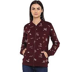Monte Carlo Maroon Cotton Sweatshirts