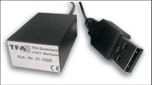 TFA PC-Thermometer USB-Temp inklusive Software