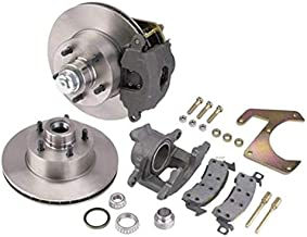 Half Ton Deluxe Disc Brake Kit, 5 x 5-1/2 Inch, Fits 1948-1956 Ford