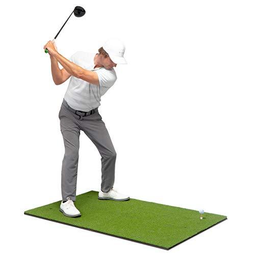 GoSports Golf Hitting Mat   5x3 Artificial Turf Mat for