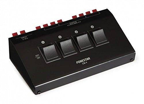FONESTAR - Selector Altavoces Stereo 4 Salidas Cb-4