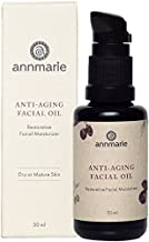 Annmarie Skin Care Anti-Aging Facial Oil - Moisturizing Face Oil For Dry or Mature Skin with Jojoba Oil, Goji Berries + Chia Seed Oil (30 Milliliters, 1 Fluid Ounce)