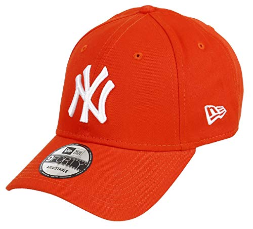 Unbekannt New Era 9forty Strapback Gorra MLB New York Yankees NY Naranja,...