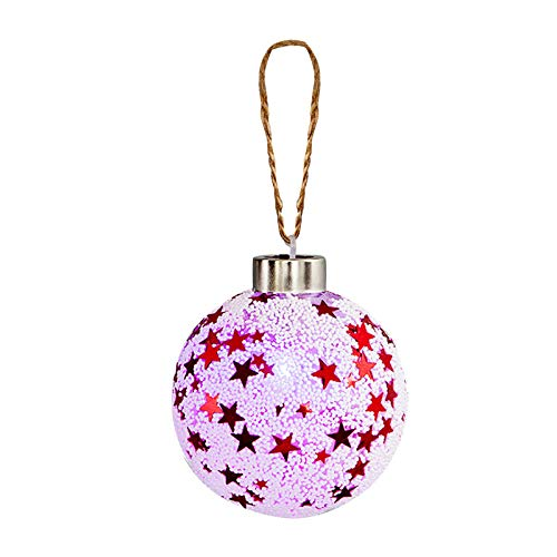 A-O 8CM Clear Ornaments, Clear Plastic Fillable Ornaments Ball, DIYChristmas Ornaments, for Christmas, for New Years Present Holiday Wedding Party Home Decor