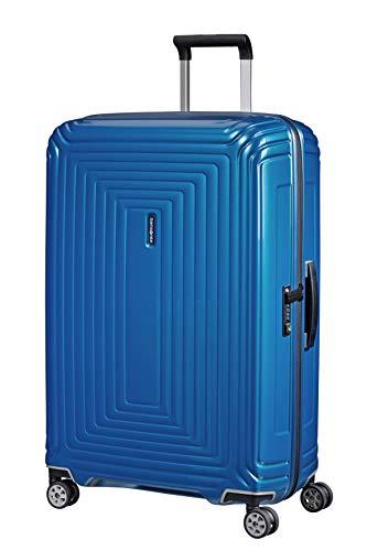 Samsonite Neopulse - Spinner L Koffer, 75 cm, 94 L, Blau (Metallic Intense Blue)