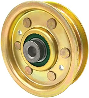 Phoenix Mfg. 3 Inch Flat Dia Flat Idler Pulley Replacement for Bobcat Jacobsen 2228016