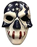 La Purga Máscara Película ELECCIONES AÑO 3' Bandera EUA ' LUJO FIBRA DE VIDRIO Máscara -...