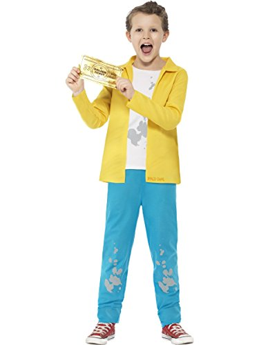 SMIFFYS Smiffy's, costume con licenza ufficiale di Roald Dahl Charlie