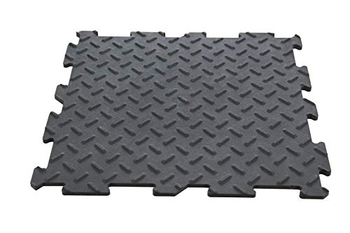 PVC Fliesen Garagenboden Garage Werkstatt Anti-Rutsch 11 Fliesen pro m² (305 x 305 x 7 mm) Klick-Verlegung