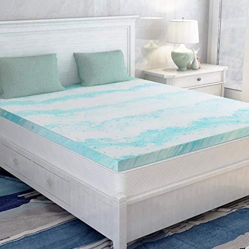 Mattress Topper King, Memory Foam Mattress Topper for King Size Bed, 3 Inch