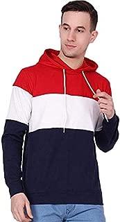 STYLE SHELL Men's Cotton Hooded Full Sleeve T-Shirt