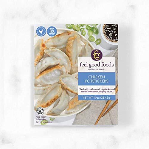 Feel Good Foods, Potstickers Chicken Gluten Free, 10 Ounce