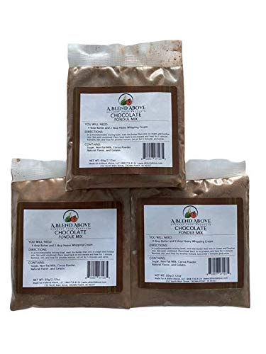 A Blend Above Chocolate Fondue Mix, Best Sellers
