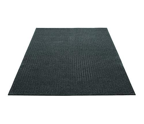 Guardian EcoGuard Indoor Wiper Floor Mat, Recycled Plastic and Rubber, 2' x 3', Green