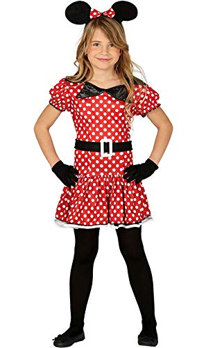 Guirca - Minnie Costume Mickey 10/12 Ans, Couleur 81201