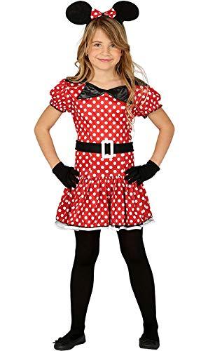 Guirca Minnie Costume Minnie 10/12 Ans, Couleur, 81201
