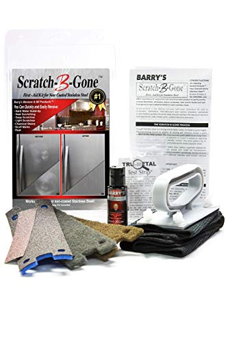 Barry's Restore It All Products - Scratch-B-Gone Homeowner Kit | The #1 selling kit used to remove scratches, rust, discoloration and more from non-coated Stainless Steel!