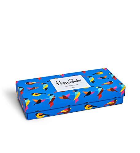 Happy Socks Gemischt farbenfrohe Geschenkbox an Baumwollsocken für Männer & Frauen,Mehrfarbig (Forest Gift Box),41-46