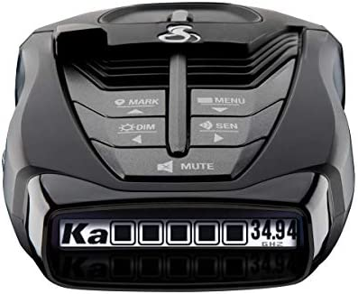 Cobra RAD 480i Laser Radar Detector Long Range Detection Bluetooth iRadar App LaserEye Front product image