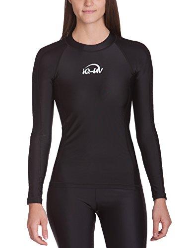Preisvergleich Produktbild IQ UV Schutz Shirt Damen UV-Schutz Schwimmen Tauchen,  schwarz (Black),  S