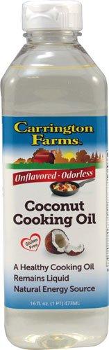 Carrington Farms Coconut Cooking Oil Unflavored -- 16 fl oz - 2 pc