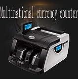 QWERTOUY Multi-Währung Währung Fremdwährungsgegen Geldprüfgerät Geldprüfgerät Geld Zähler US Euro Punkt Fälschung 198 UVMG - 2
