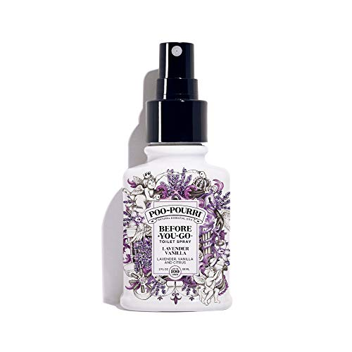 Poo-Pourri Before-You-go Toilet Spray, 2 Fl Oz, Lavender Vanilla, 2 Fl Oz