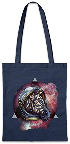 Urban Backwoods Space Zebra Boodschappentas Schoudertas Shopping Bag