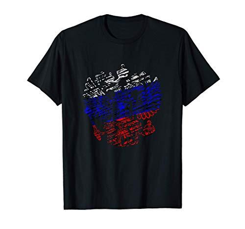 Russisches Trikot Russland Wappen Russische Flagge Fahne T-Shirt