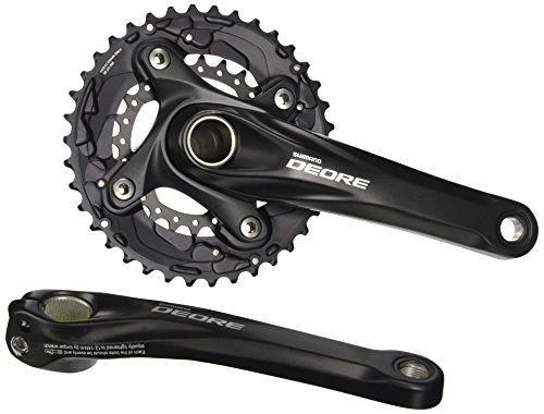 SHIMANO Deore FC-M615E - Cadena para Bicicleta de montaña, 10 velocidades