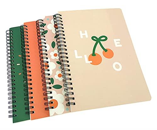 ALIMITOPIA Spiral Notebook Joural,Wirebound Ruled Sketch Book...