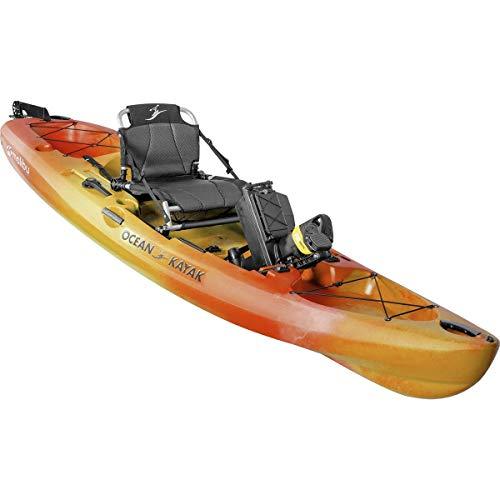 Ocean Kayak Malibu Pedal Recreational Kayak (Sunrise, 12 Feet)