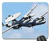 軍事偵察機ゴムコンピューターマウスパッドマット