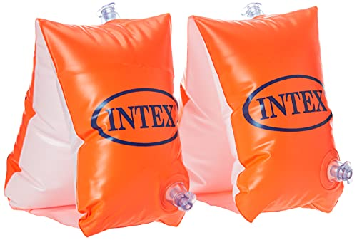Intex 58641EU - Deluxe Large Swimming Arm Bands age 6 - 12, 30 x 15 cm