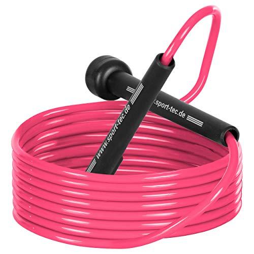Speed Rope Springseil Sprungseil Hüpfseil Seil springen 300 cm für HIIT, Boxen, MMA, Fitness, Crossfit