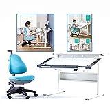 Schreibtische Kinder Studie Tisch Kinderschreibtisch Grundschule Hebe Home Student Stuhl Set (Color : Weiß, Size : 90 * 71 * 90cm)