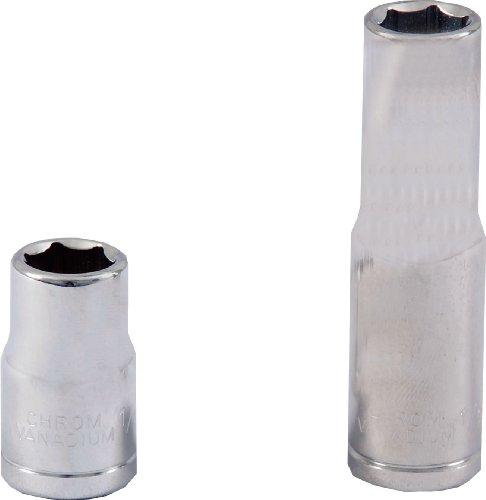 Projahn 101506 1/10,2 cm Douille profonde à tête hexagonale 9/81,3 cm