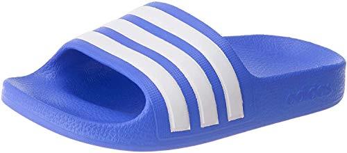 adidas Unisex Kinder Adilette Aqua Straßen-Laufschuh, True Blue Footwear White True Blue, 35 EU