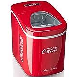 Salco Machine à glaçons SEB-14CC Rouge