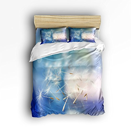 Great Features Of Victories Cotton Bedding Set - Soft Bedding Collection -Dandelion Background,Hypoa...