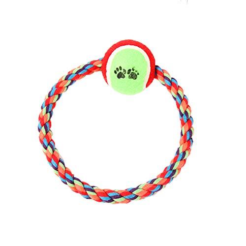 LYsng Hundespielzeug Set Ungiftig Hundespielzeug Welpen Spielzeug FüR Hunde Langlebig Hundetau Dog Toy Für Kleine Mittlere Hunde Hundespielzeug Alle Größe Hunde