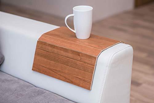 Exotisch hout Sofa arm lade Beschermers armsteun Tafel Sofa Tafel Coaster Sofa lade Kersen