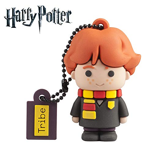 Llave USB 16 GB Ron Weasley - Memoria Flash Drive Original Harry Potter, Tribe FD037503