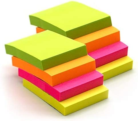 Emraw Tiny Sticky Notes Stick It Large-scale Super popular specialty store sale Plain x Small Stickies 2